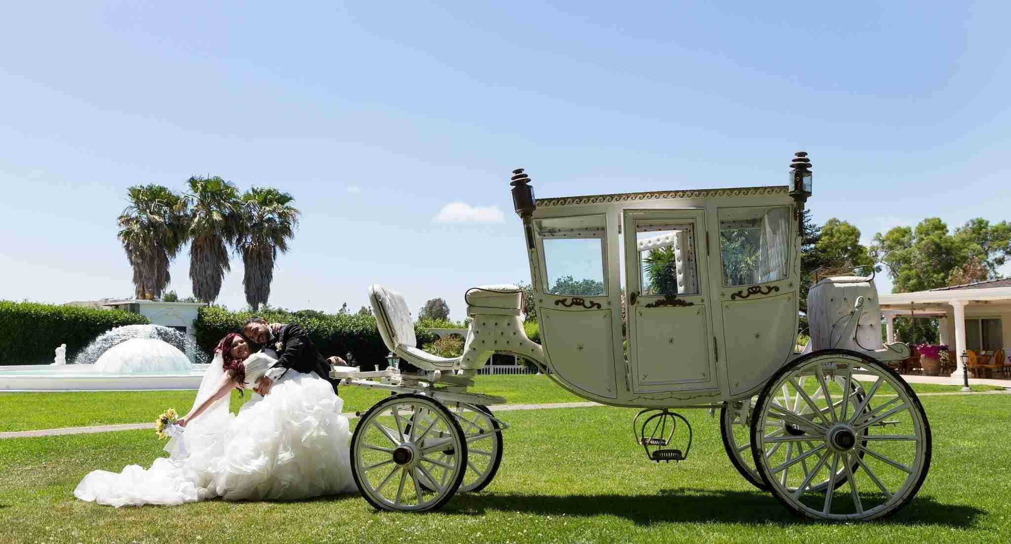Matrimonio in Villa lago dei cigni: Matrimonio da Sogno, Carrozza
