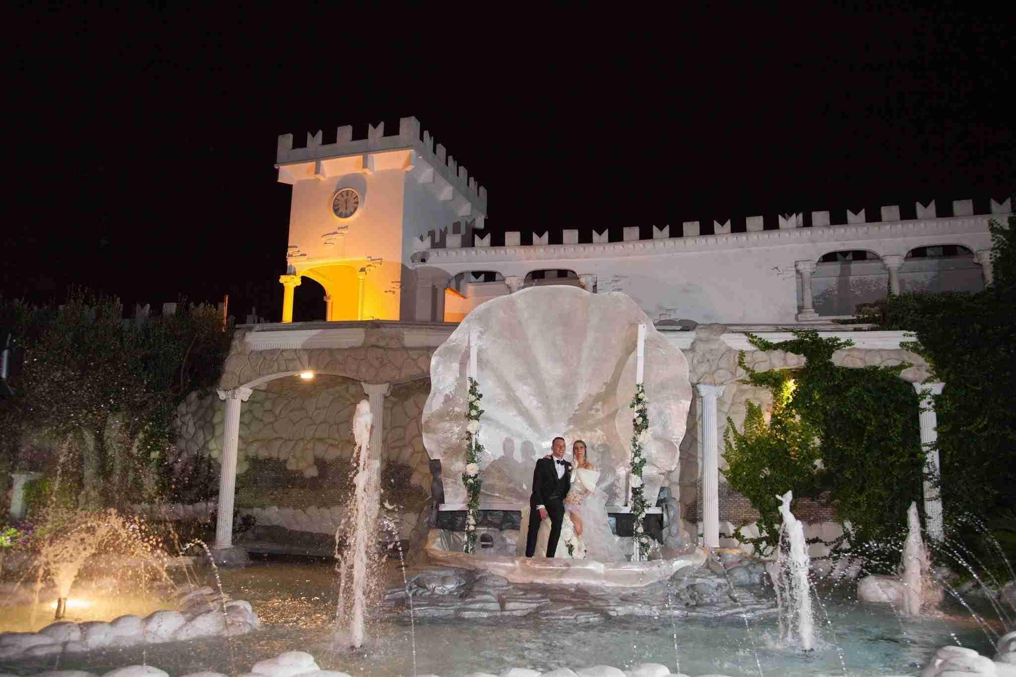 Matrimonio in Villa lago dei cigni: Esterni, giardino e piscina