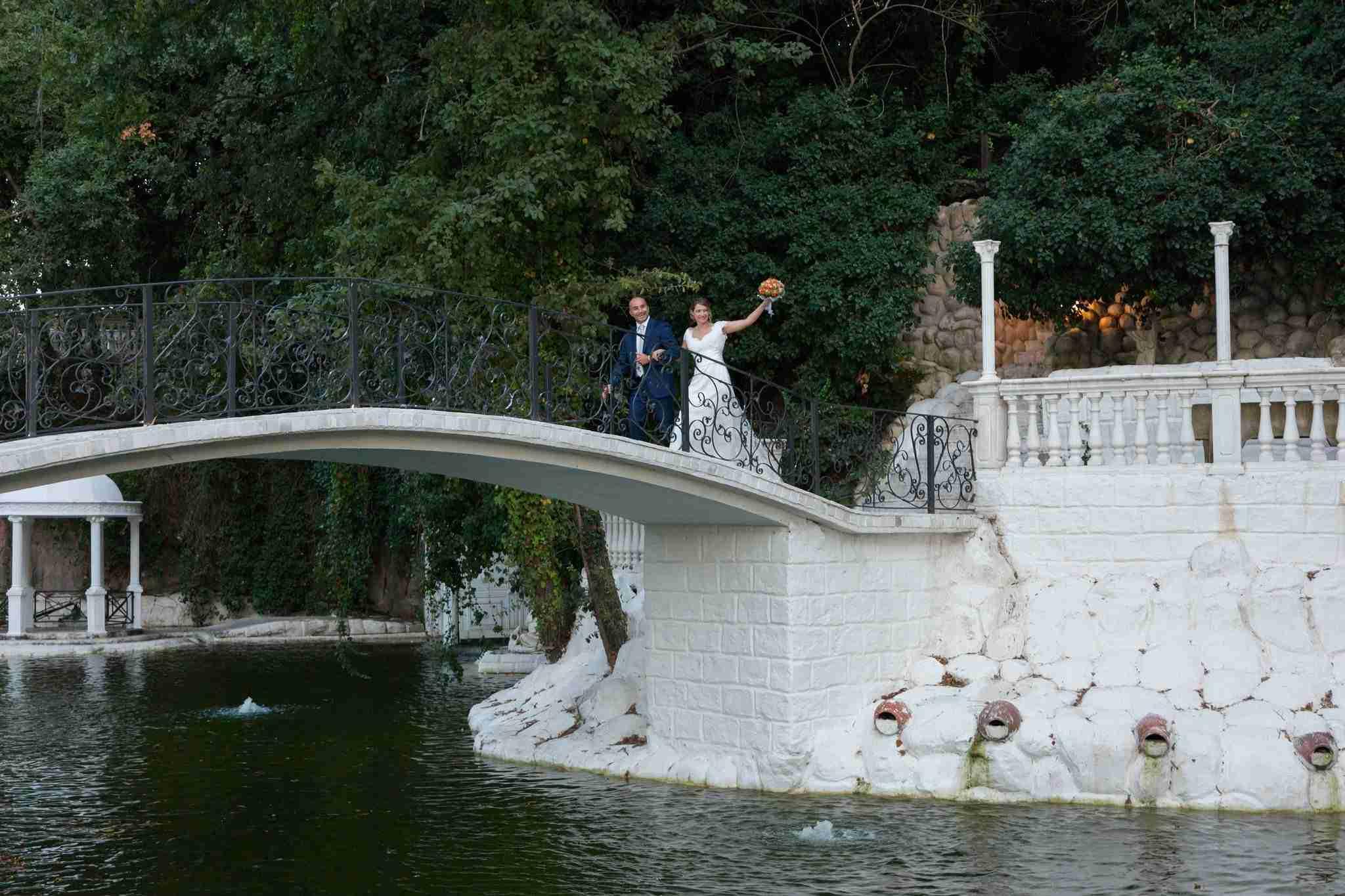 Matrimonio in Villa lago dei cigni: Laghetto