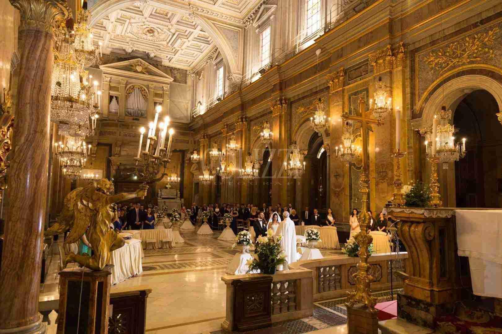 Cerimonia alla Basilica Santi Giovanni e Paolo