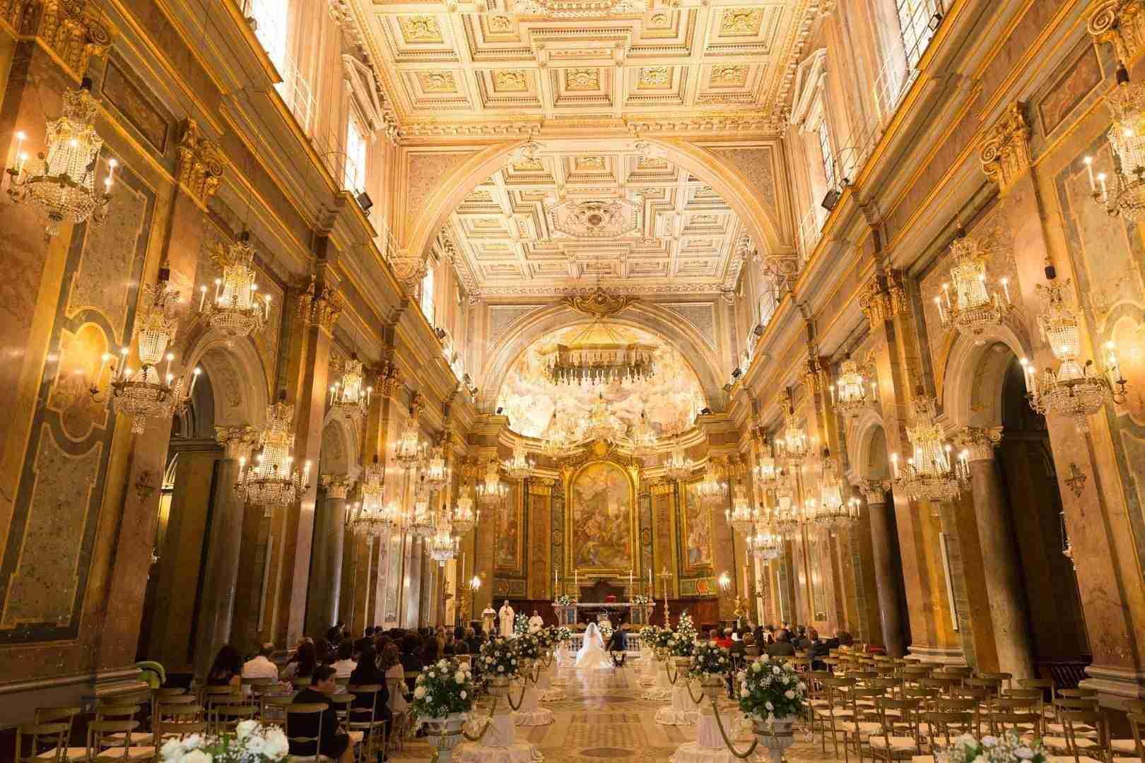 Interno Basilica Santi Giovanni e Paolo - Studio Fotografico Colizzi Roma