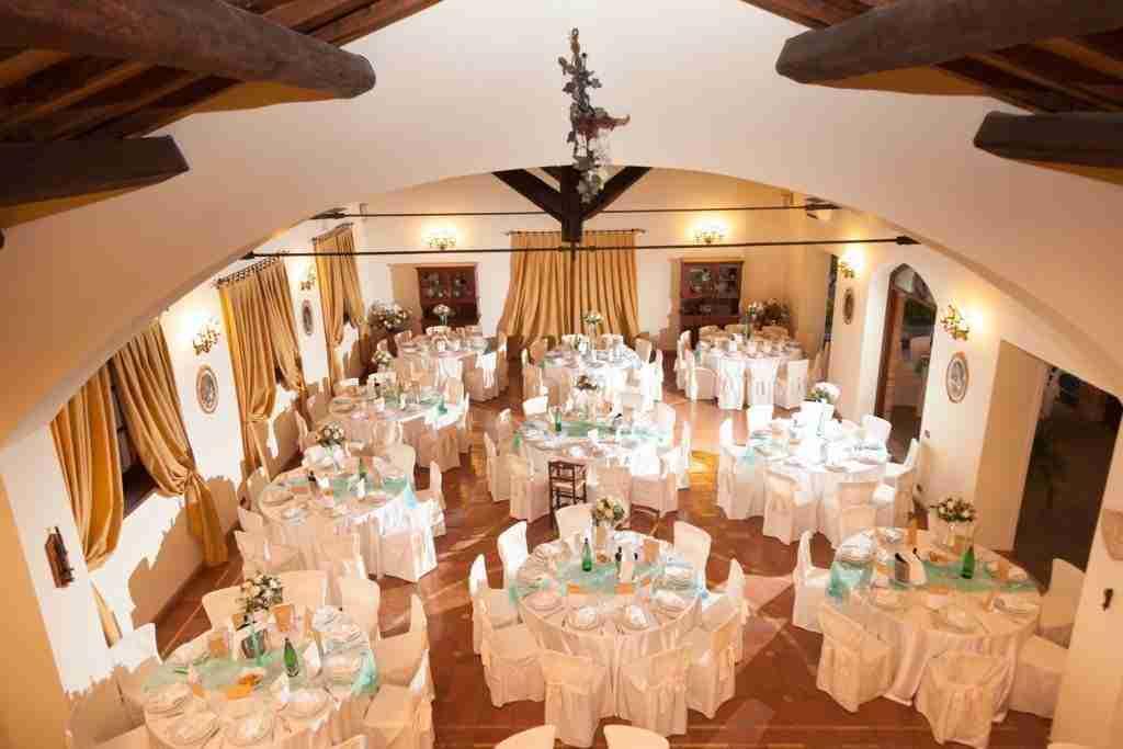 Matrimonio al Casale Antica Cassia: Sala ricevimento