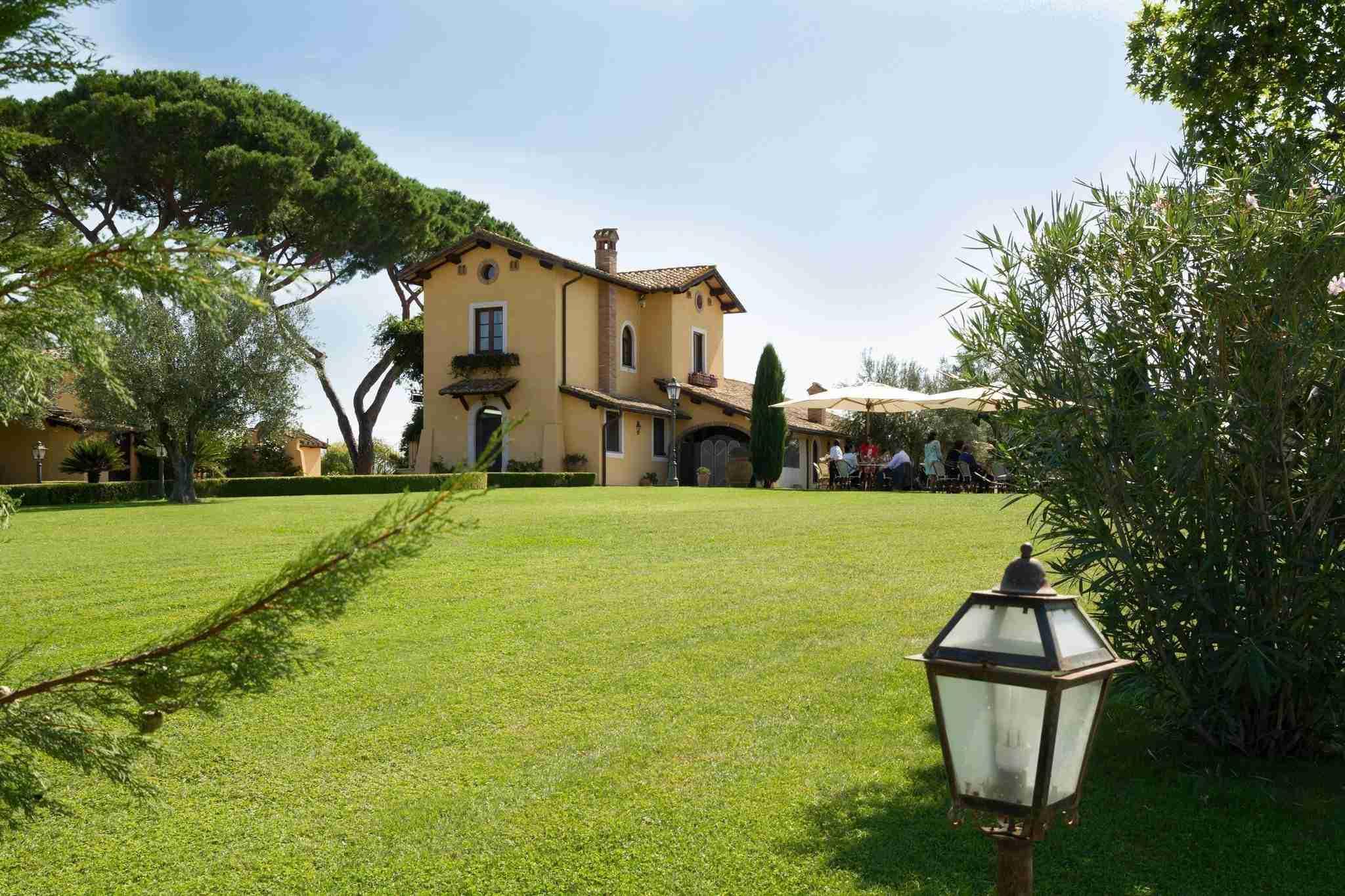 Matrimonio al Casale Antica Cassia: Giardino
