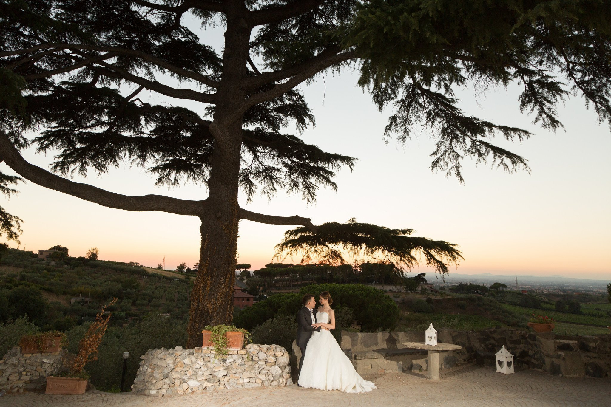 Matrimonio al Casale Baldetti: Giardino Esterno