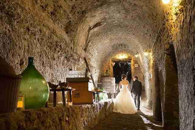 Matrimonio al Casale Baldetti: Cantina Vini