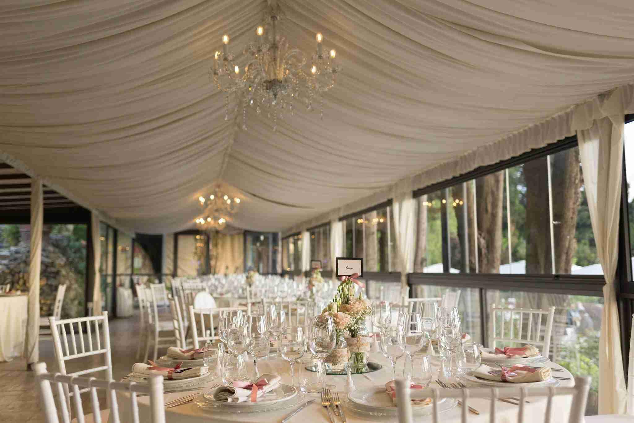 Matrimonio al Casale Baldetti: Sala Ricevimento