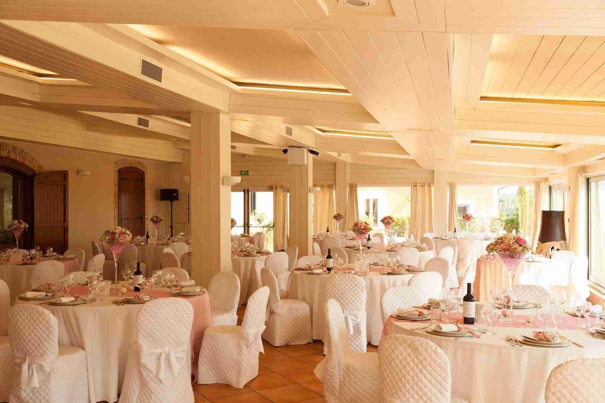 Matrimonio al Casale Realmonte: Sala Ricevimento
