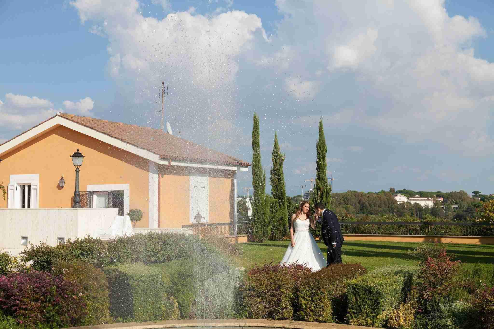 Matrimonio al Casale Realmonte: Esterno, giardino