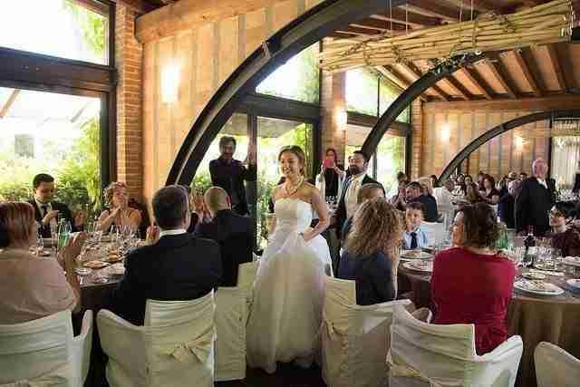 Matrimonio al Casale Santa Brigida: Sala Ricevimento interna