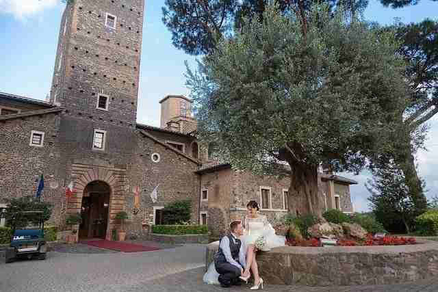 Matrimonio al Castello della Castelluccia: Esterno