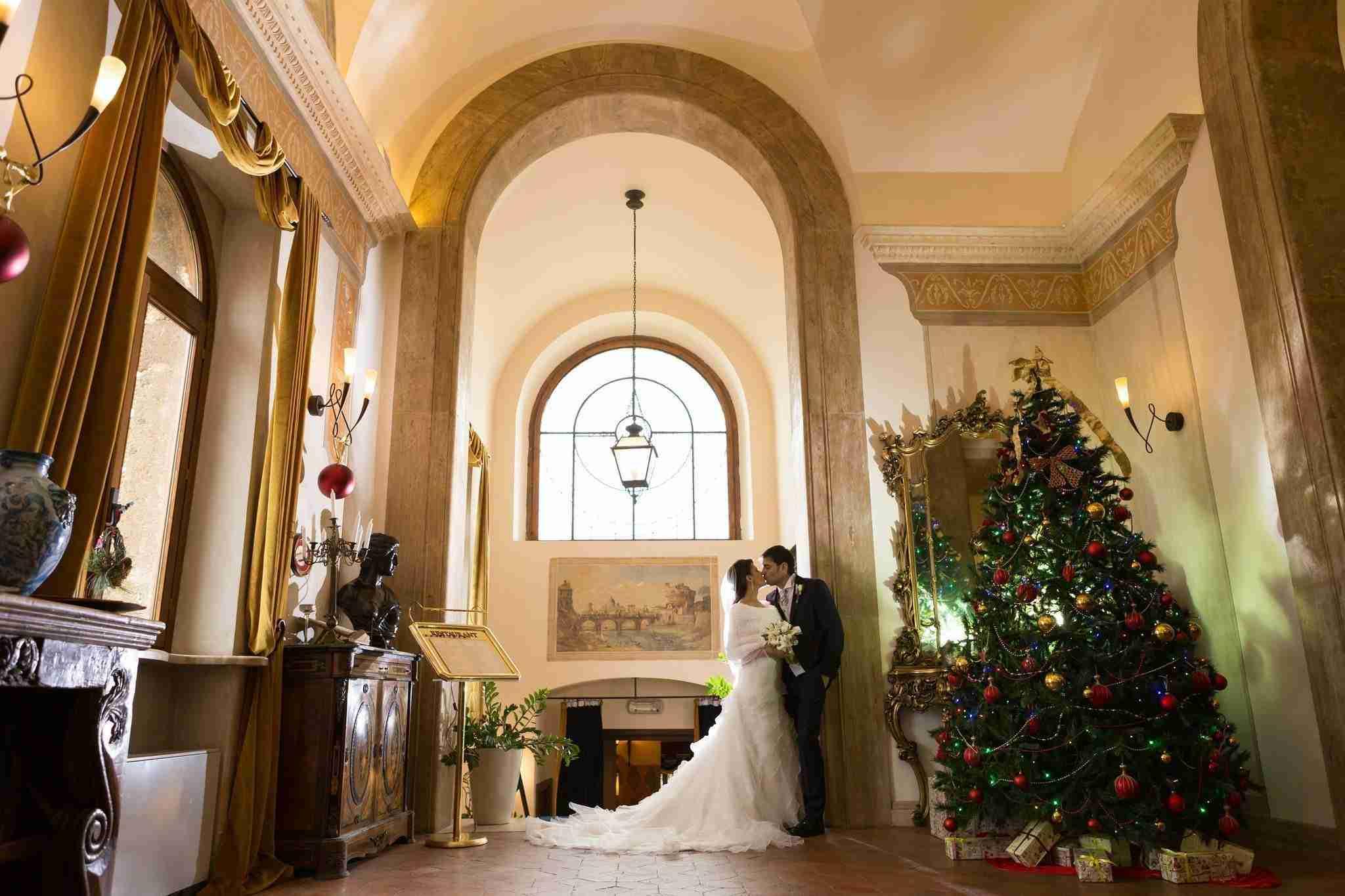 Matrimonio al Castello della Castelluccia: Sala Interna