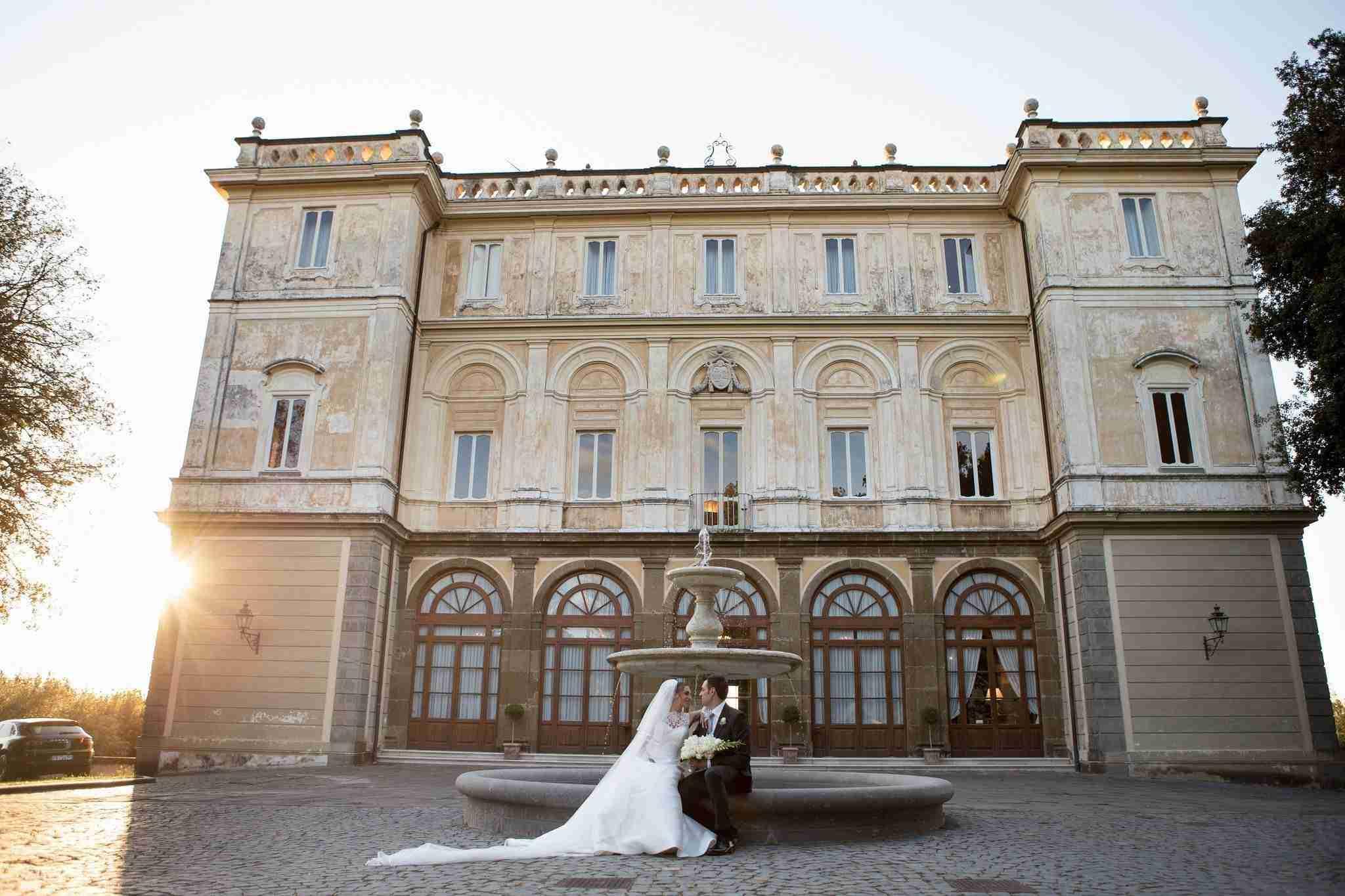 Matrimonio al Park Hotel Villa Grazioli: esterno