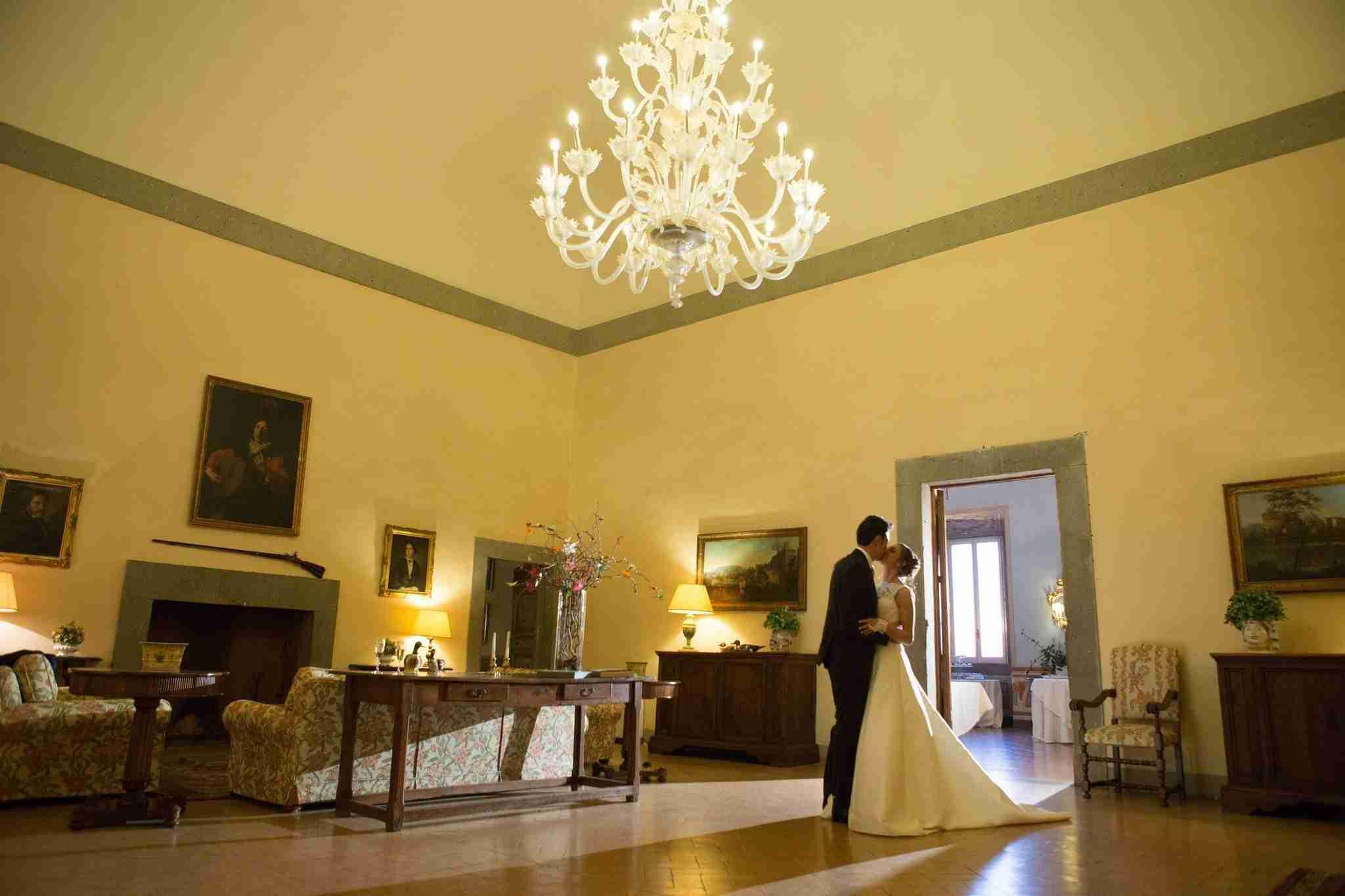 Matrimonio al Park Hotel Villa Grazioli: Sala Interna