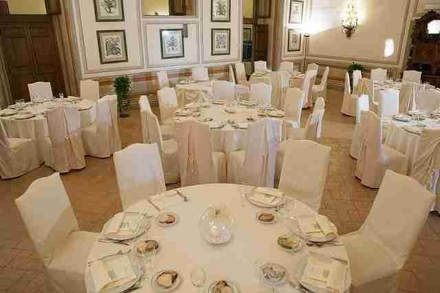 Matrimonio al Park Hotel Villa Grazioli: Sala Ricevimento