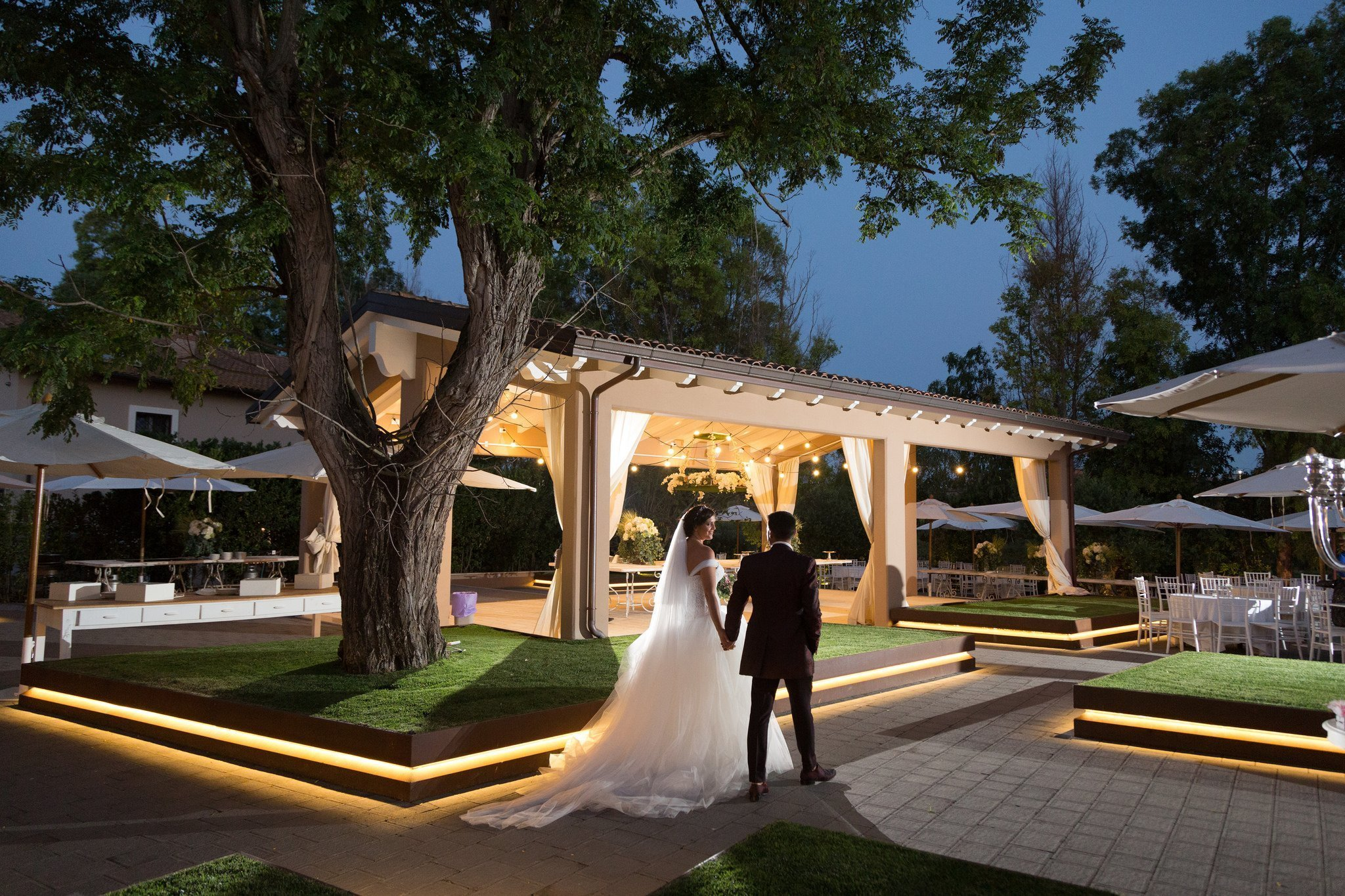 Matrimonio in Villa le Jarden Potager