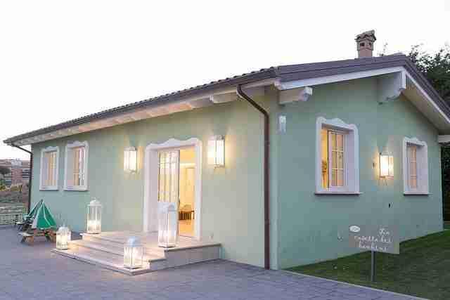 Matrimonio a Villa Le Jarden Potager: Casa dei Bambini