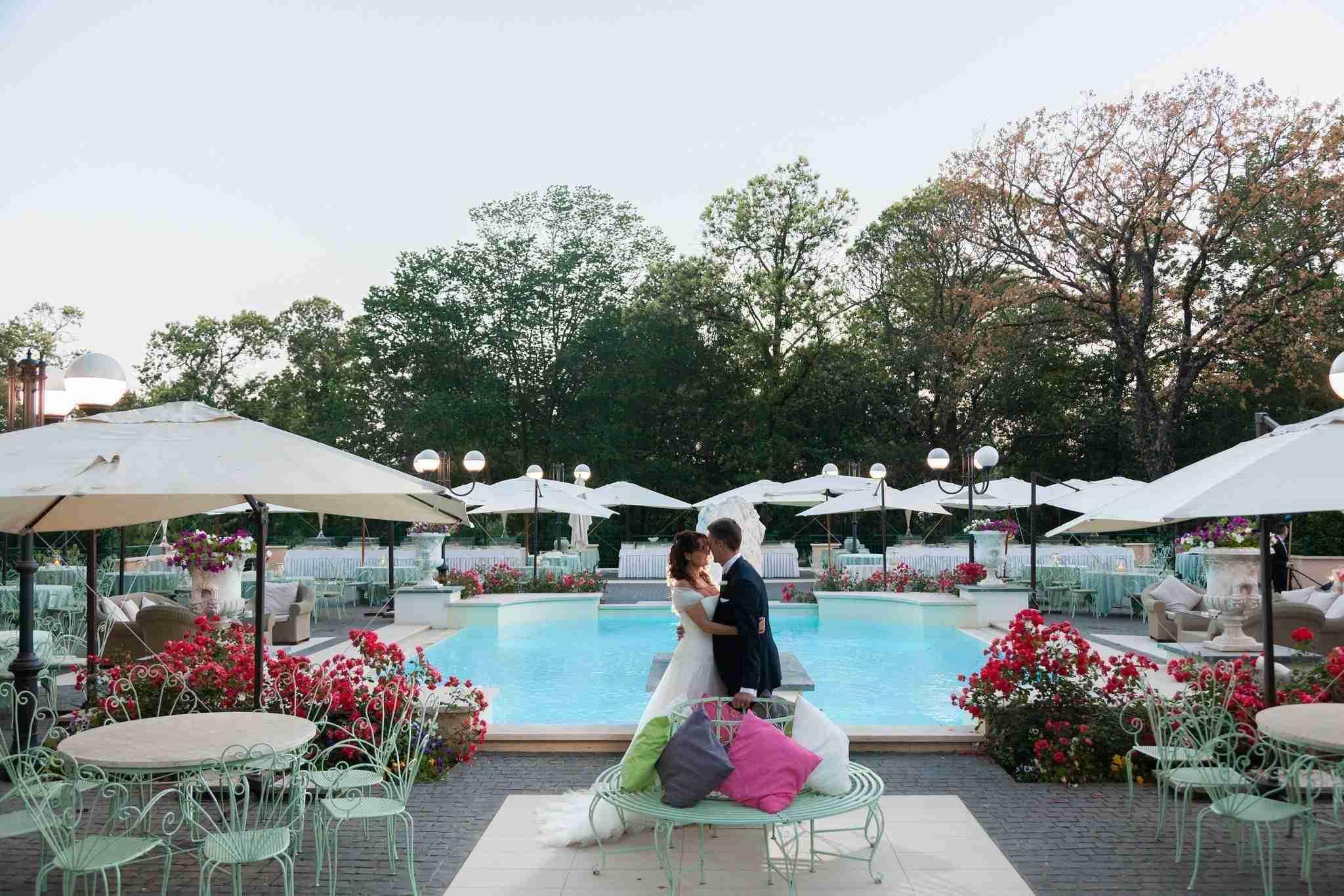 Matrimonio al ristorante la Foresta: piscina