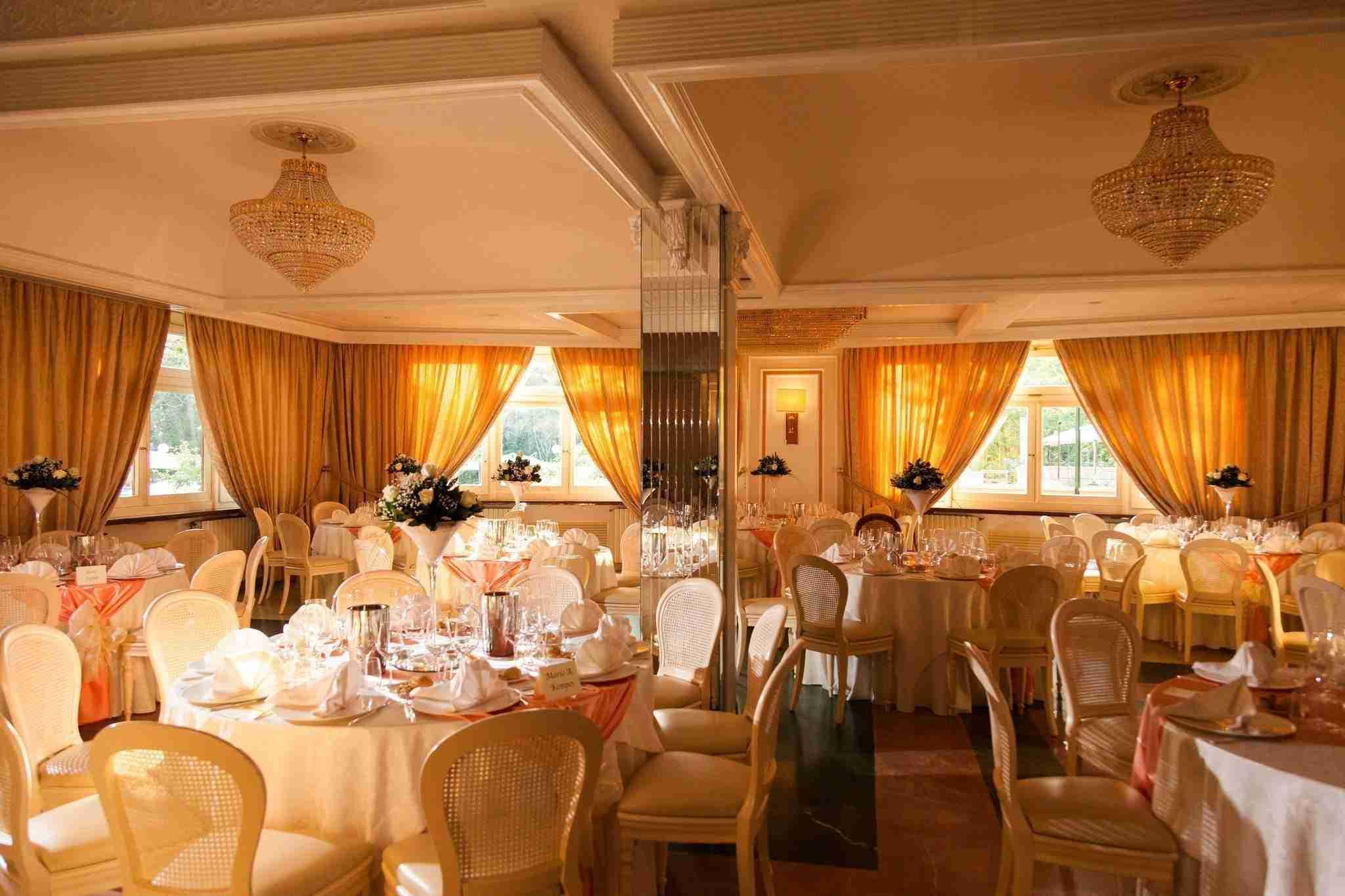 Matrimonio al ristorante la Foresta: Sala interna ricevimento