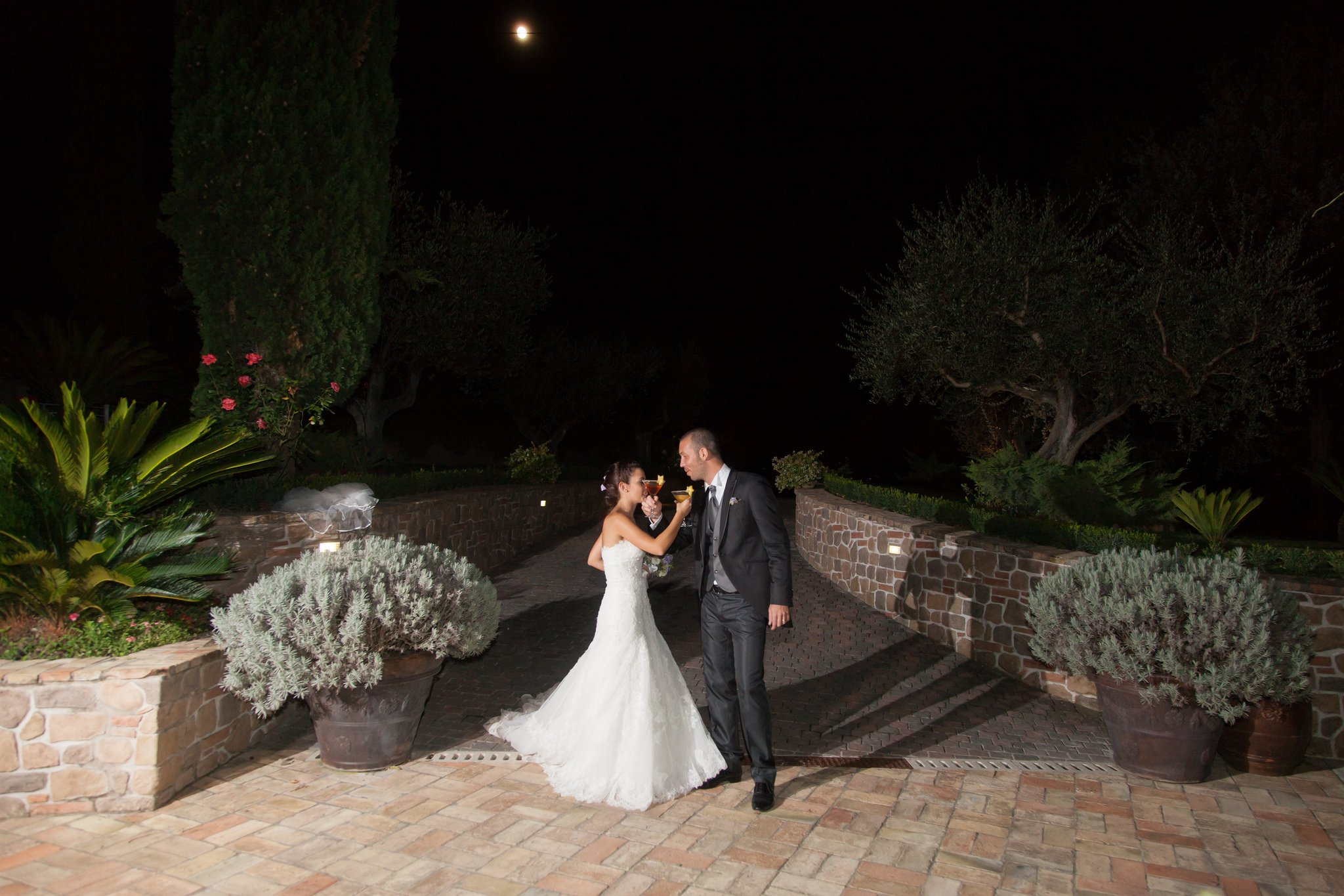 Matrimonio alla tenuta degli Alfei: Esterno