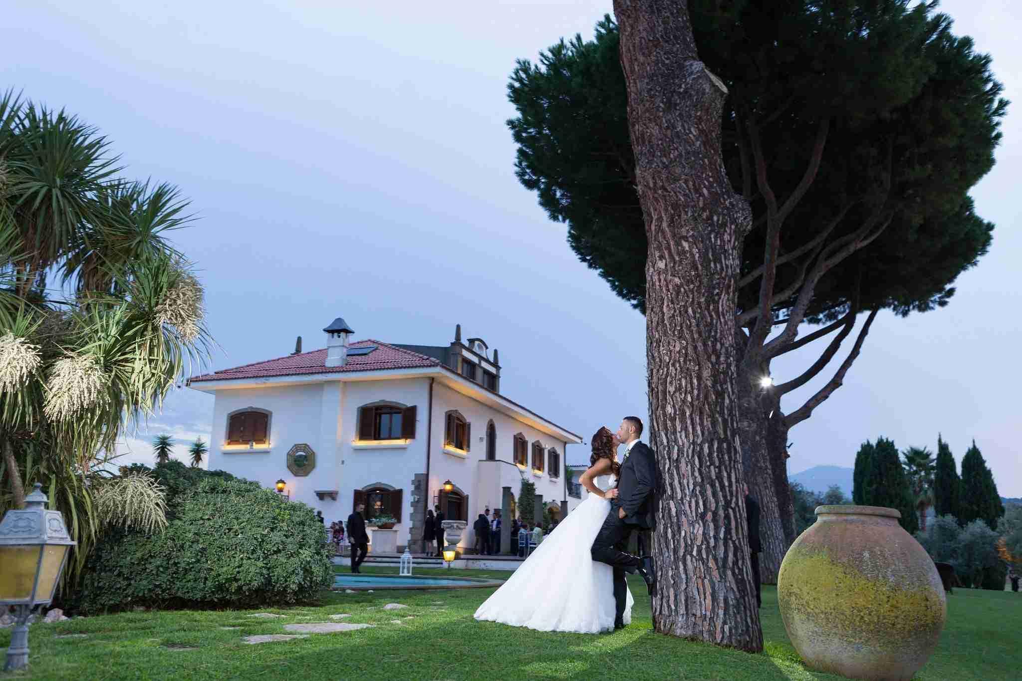 Matrimonio alla Tenuta dell'Angelica: Giardino