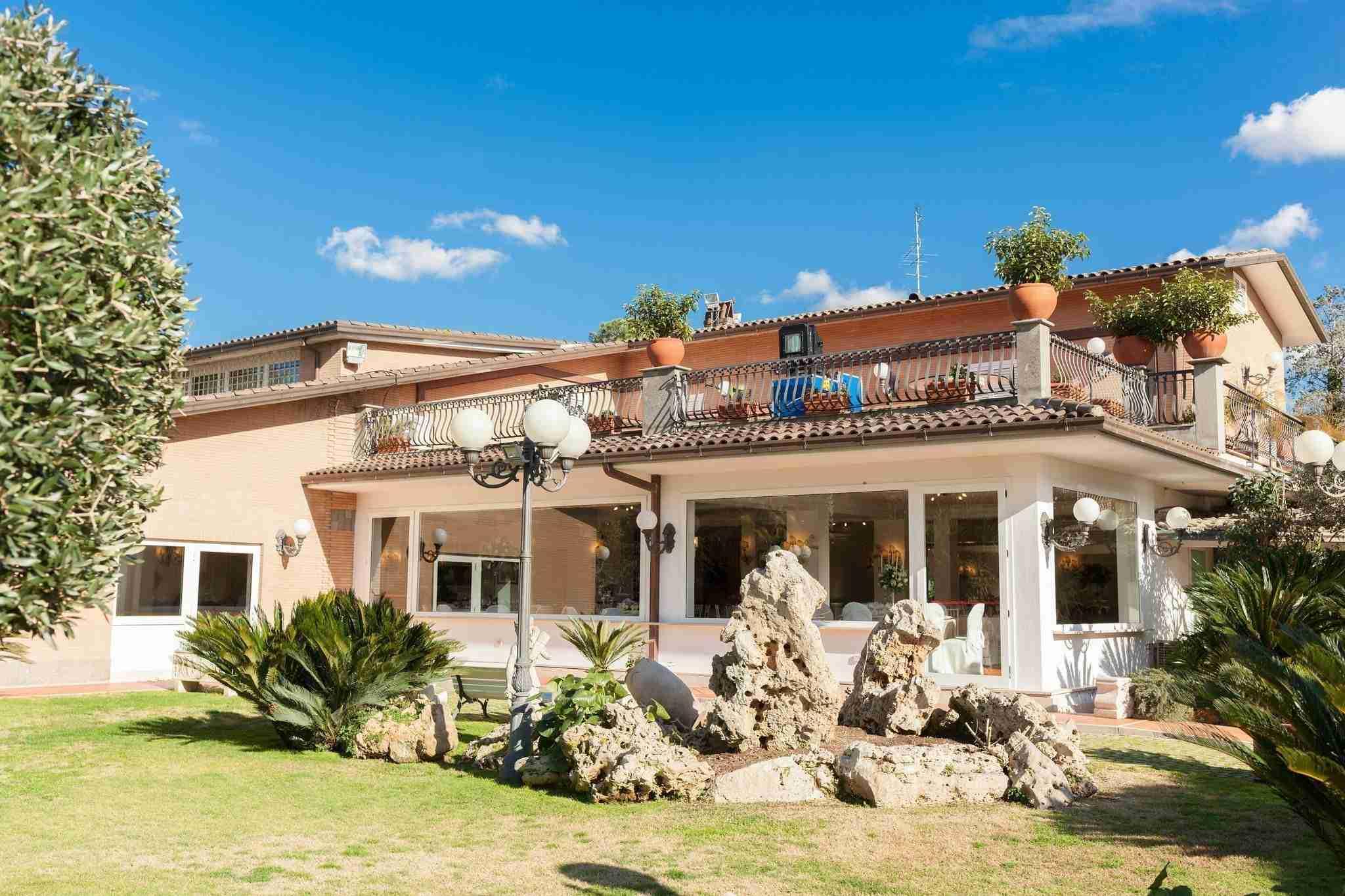 Matrimonio a Villa Cinardi: Esterno, giardino