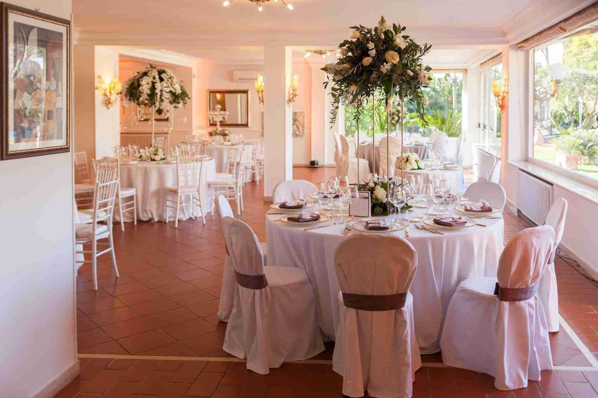 Matrimonio a Villa Cinardi: Sala Ricevimento