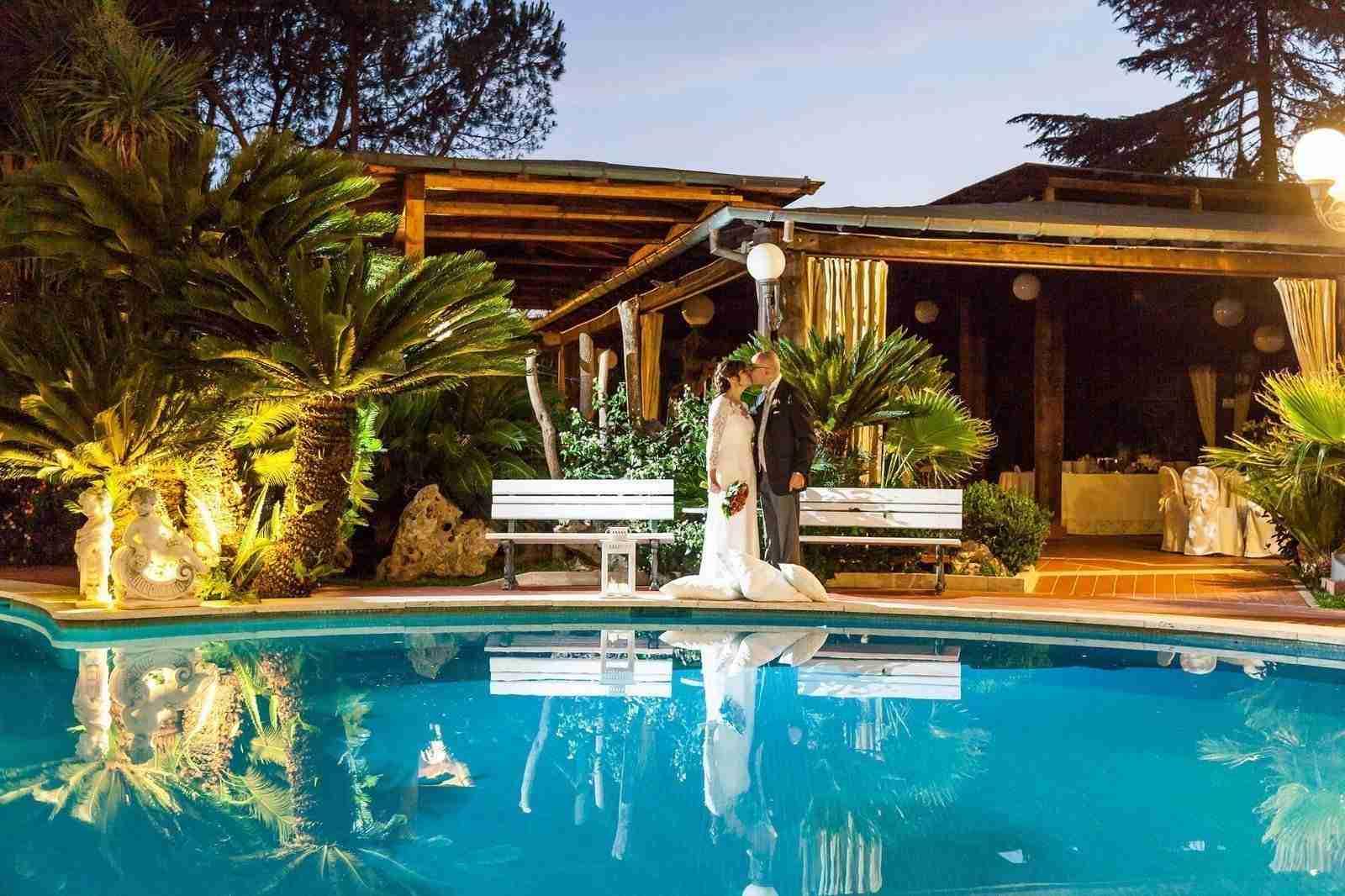 Matrimonio a Villa Cinardi: Esterno, piscina