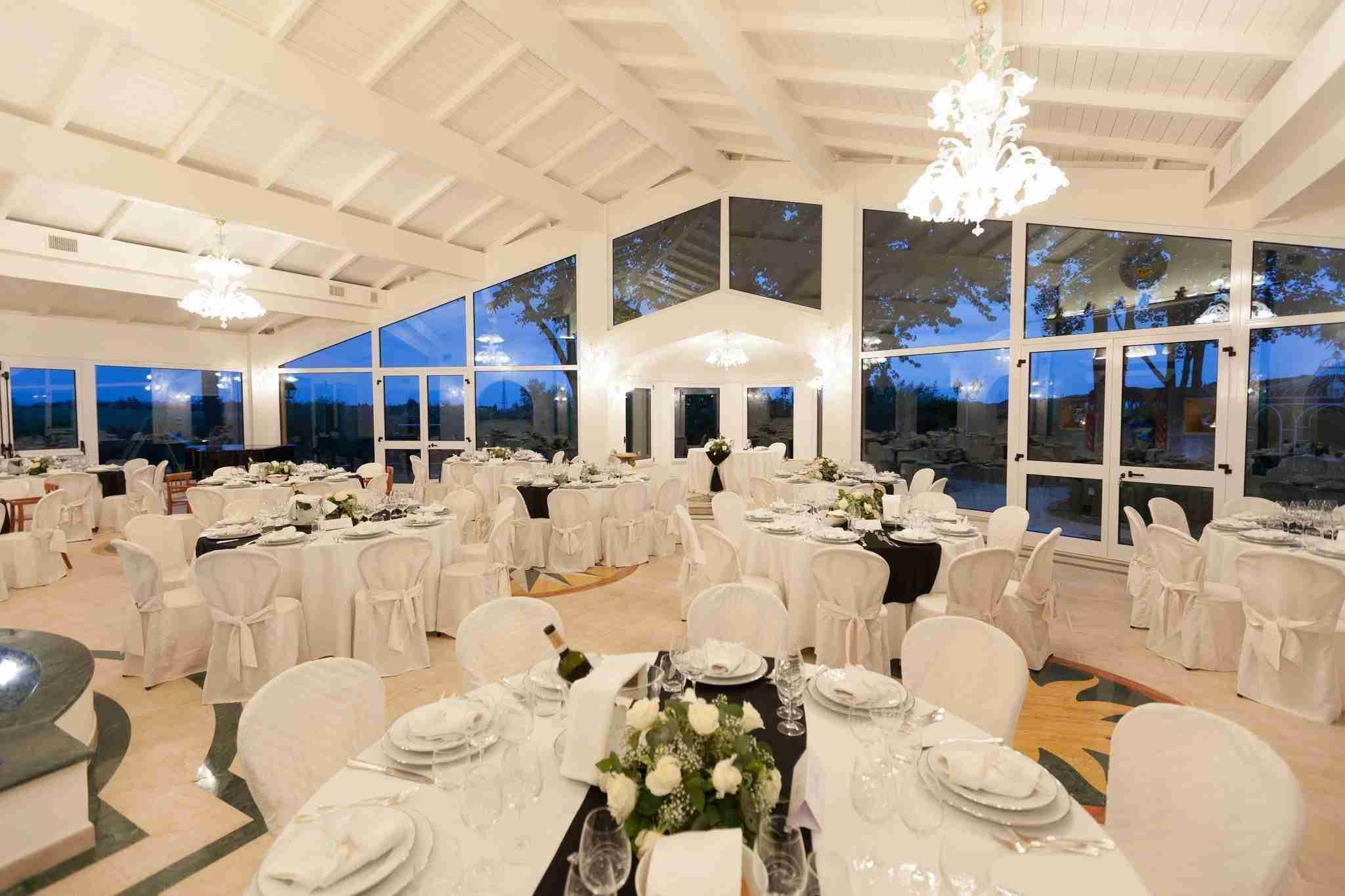 Matrimonio a Villa Galanti: Sala Ricevimento