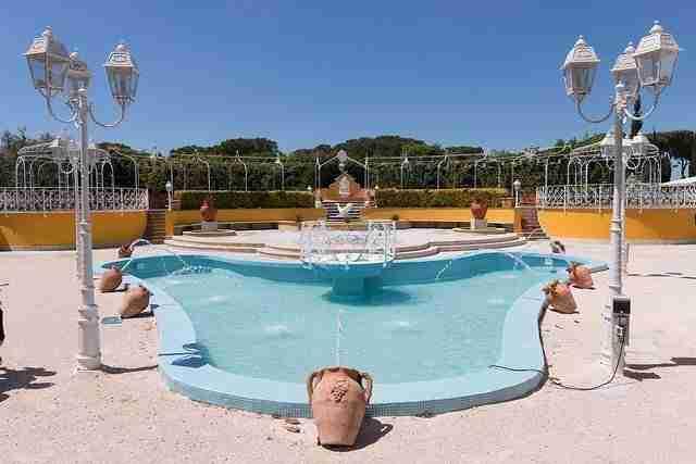 Matrimonio a Villa Galanti: Piscina