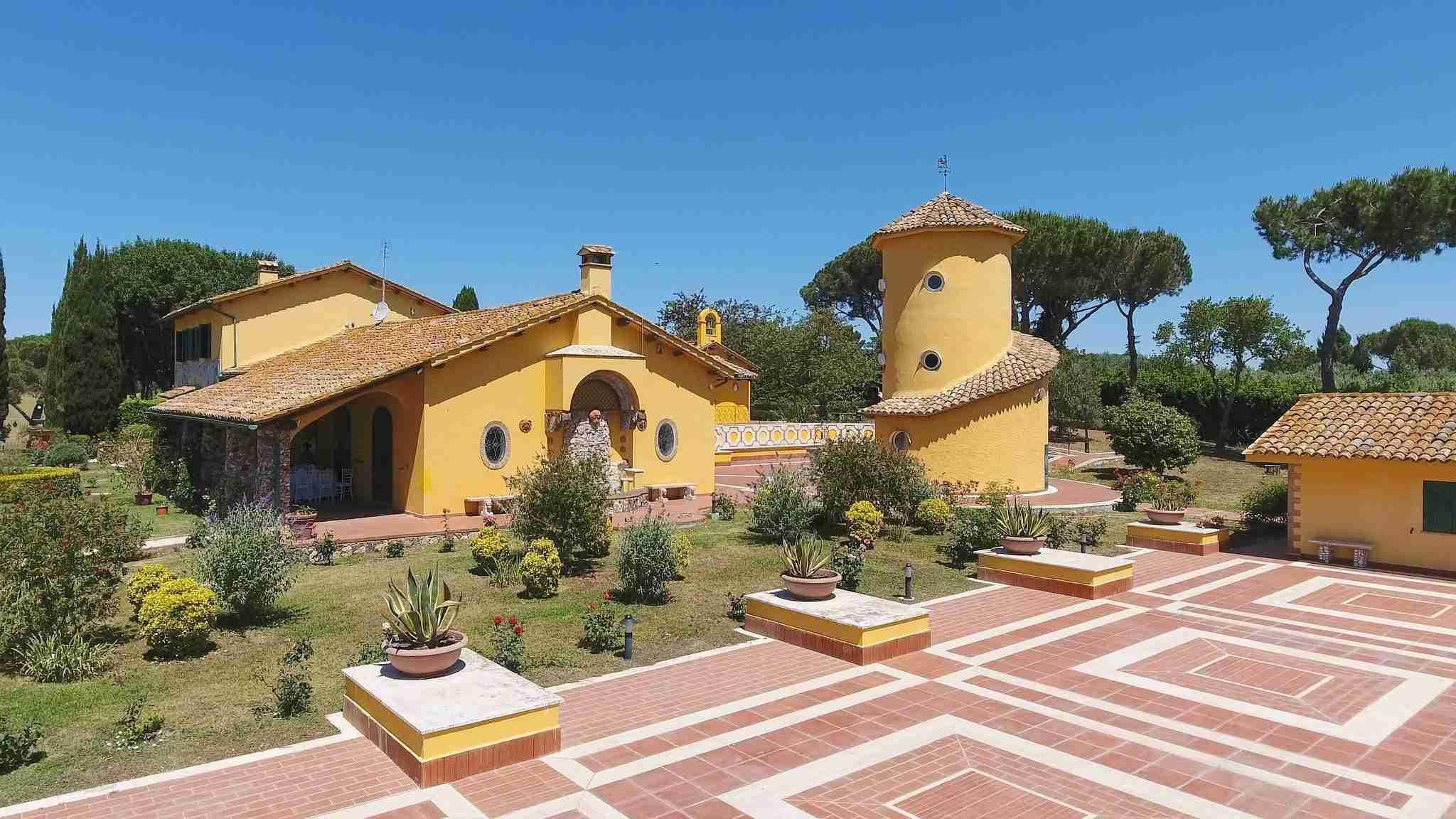 Matrimonio a Villa Galanti: Esterni, giardino