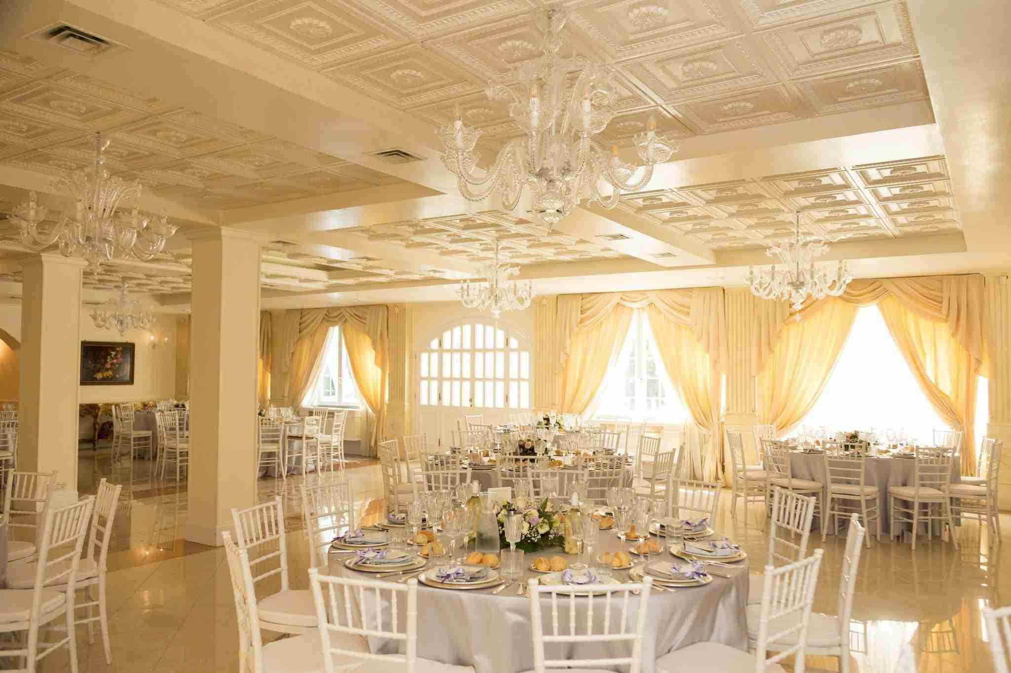 Matrimonio a Villa York: Sala Ricevimento