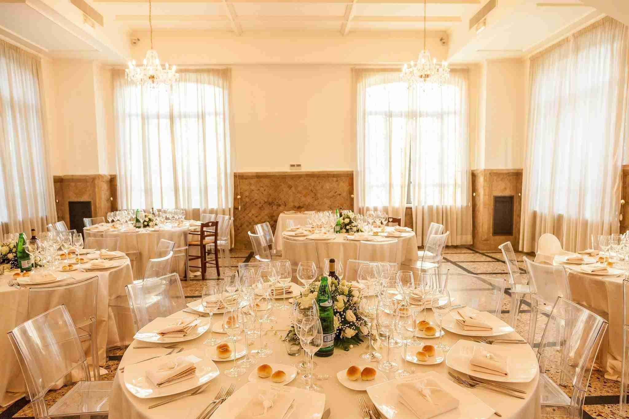 Matrimonio a Villa dei Cesari: Sala Ricevimento