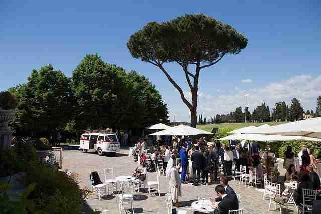 Matrimonio a Villa dei Cesari: Ricevimento in Giardino