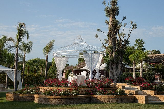 Villa dei Desideri: Ricevimento Matrimonio Esterno