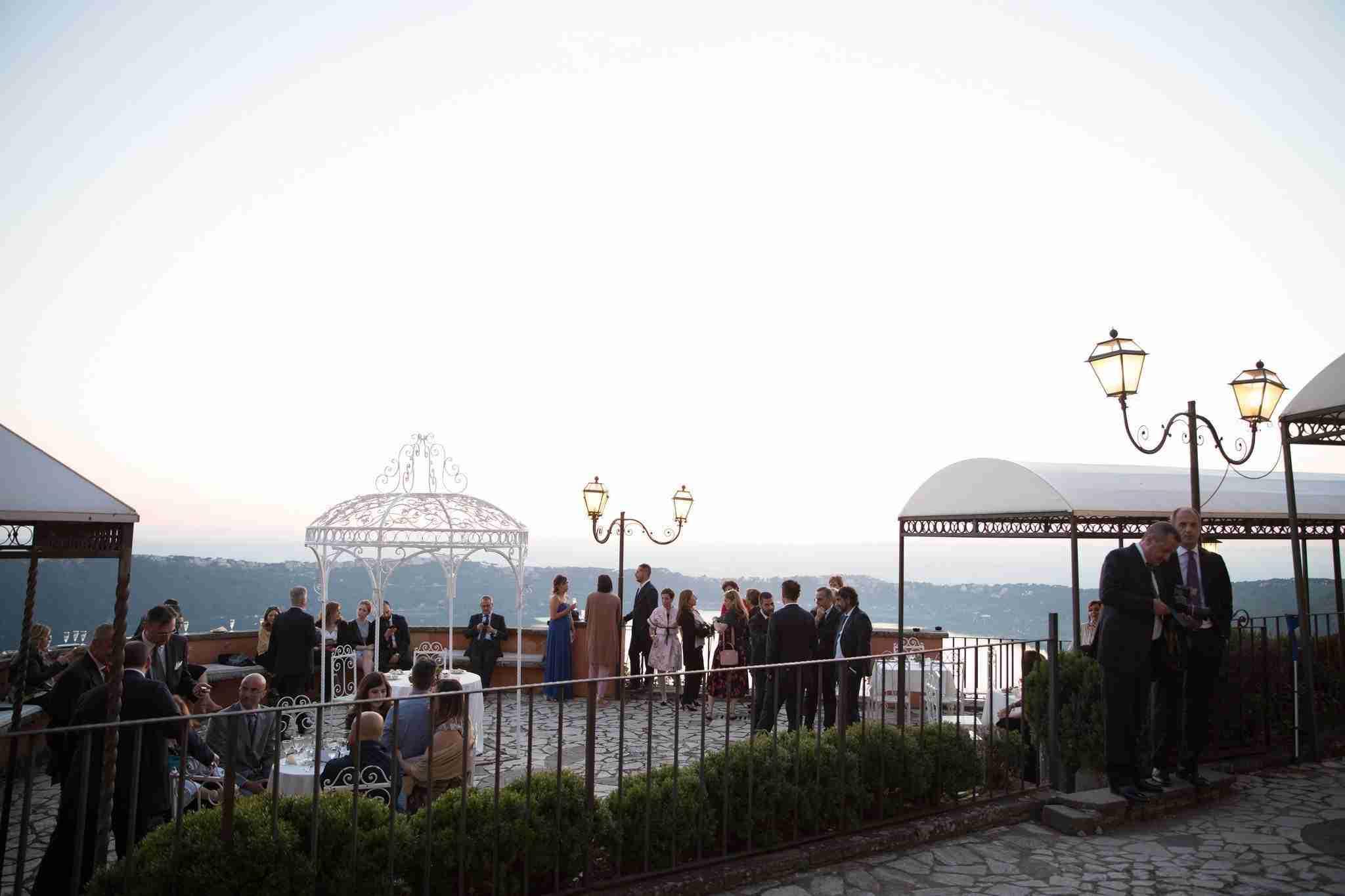 Villa per Matrimoni Cardinali - Terrazza sul Mare