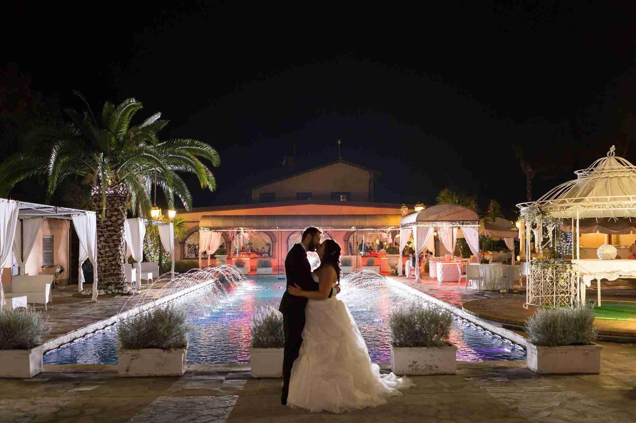 Matrimonio a Villa il Sogno: Piscina ed Esterni, Ricevimento in giardino