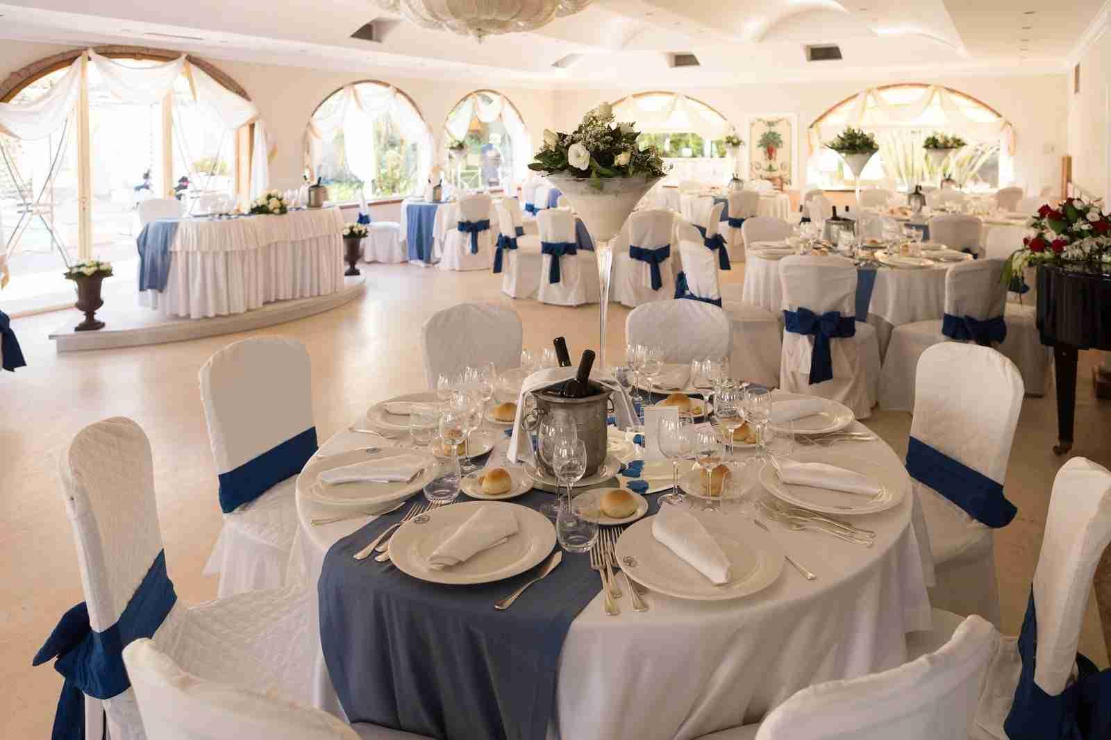 Matrimonio a Villa il Sogno: Sala Ricevimento