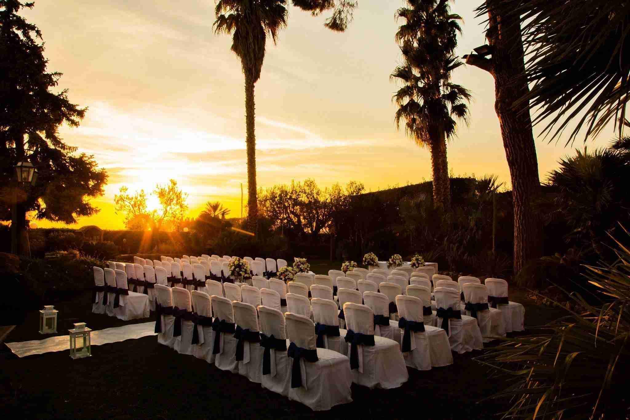 Matrimonio a Villa il Sogno: Cerimonia Civile all'esterno