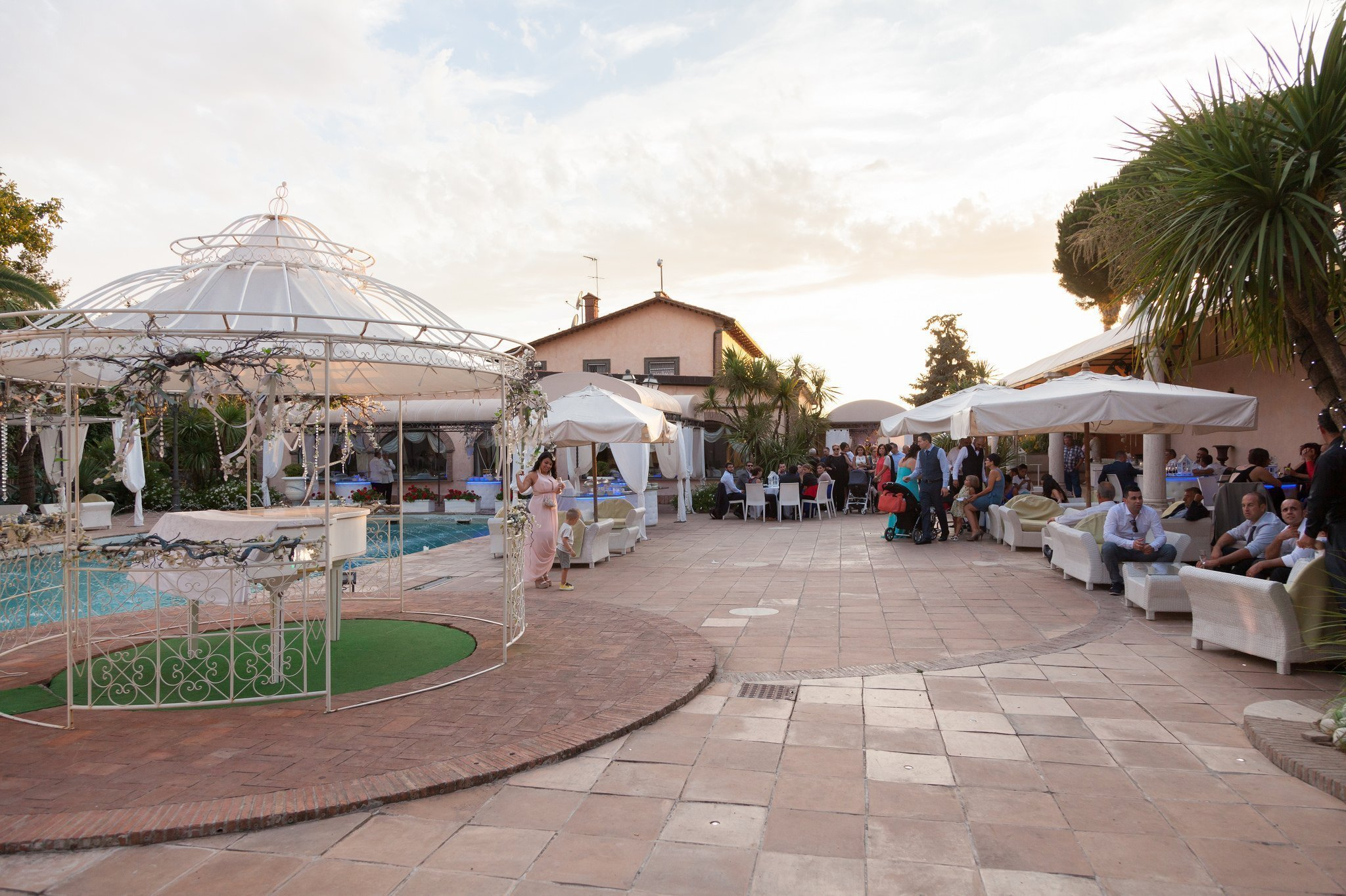Matrimonio a Villa il Sogno: Esterni