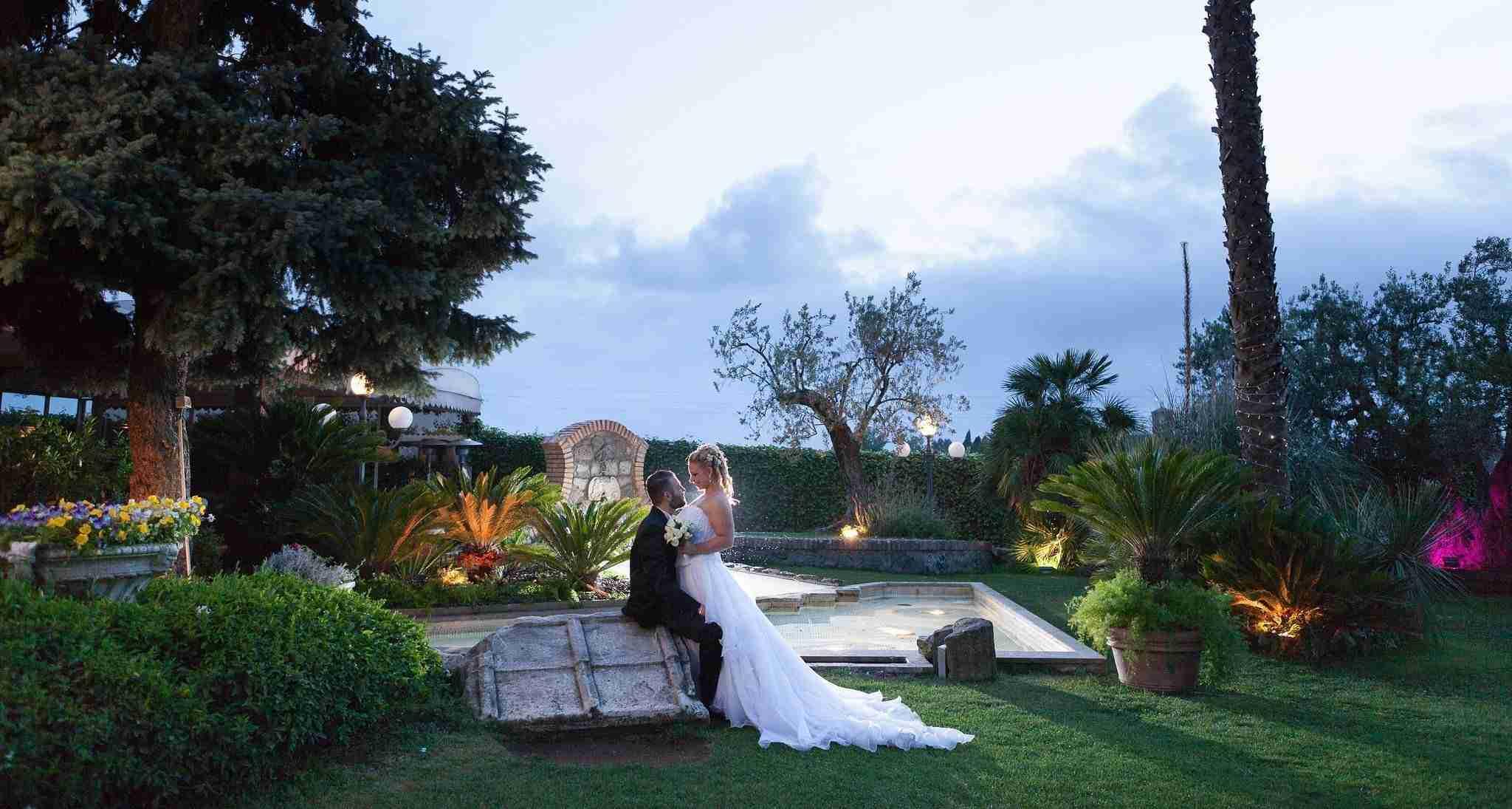 Matrimonio a Villa il Sogno: Esterni, giardino