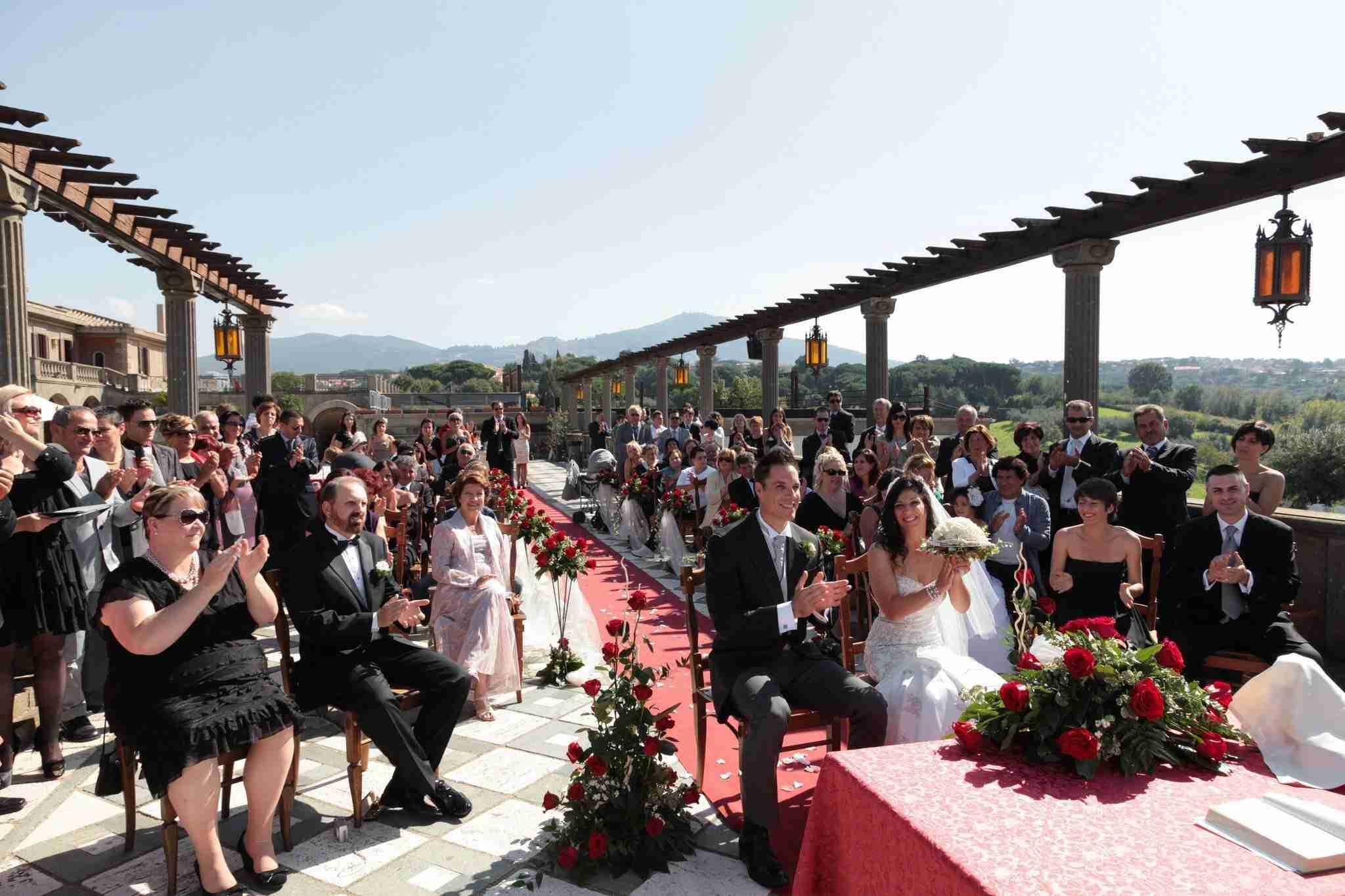 Villa per Matrimoni Monte D'Oro - Terrazza Cerimonia
