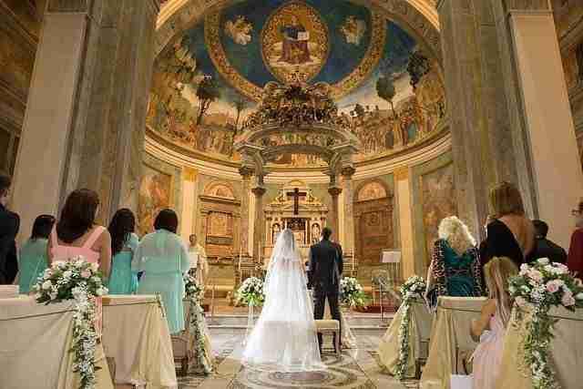 10 regole per sposarsi in Chiesa a Roma