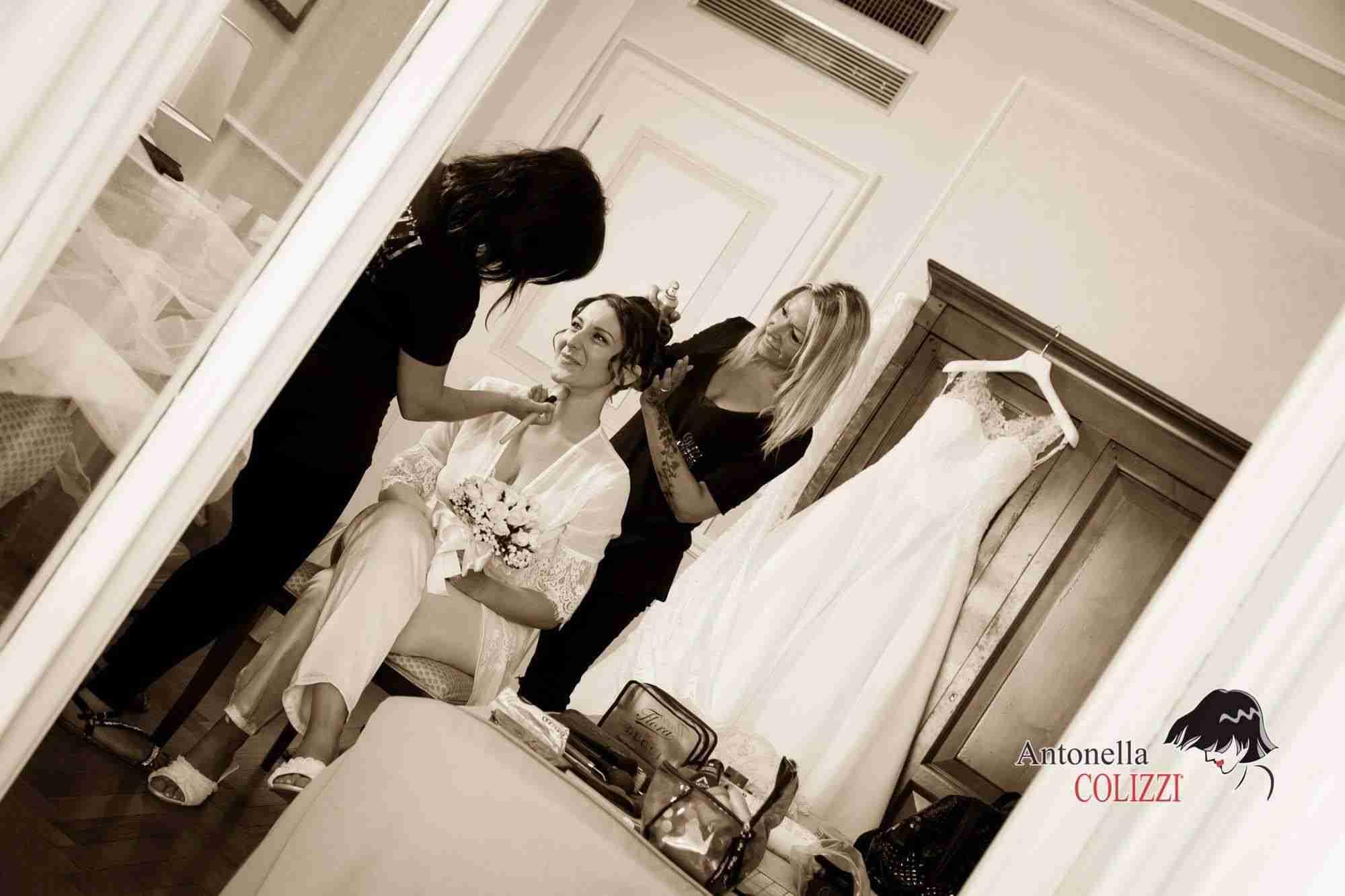 Colizzi Lookmaker Roma - Trucco e acconciatura sposa
