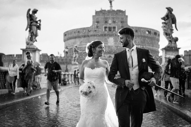 Foto Matrimonio in Bianco e Nero - Studio Fotografico Colizzi
