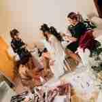 Fotografo Sposa, foto a casa della sposa mentre si prepara