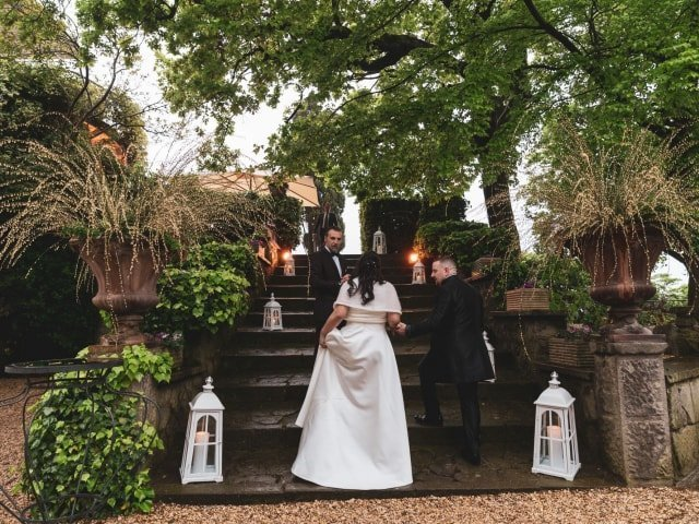 Villa Pocci - Fotoreportage matrimonio di Patrizia & Mirko - Colizzi Fotografi