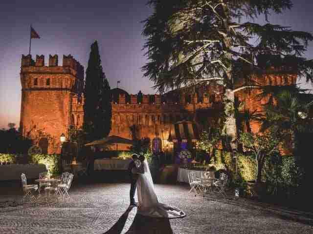 : Castello di Torcrescenza - Fotoreportage matrimonio di Ludovica & Francesca - Colizzi Fotografi