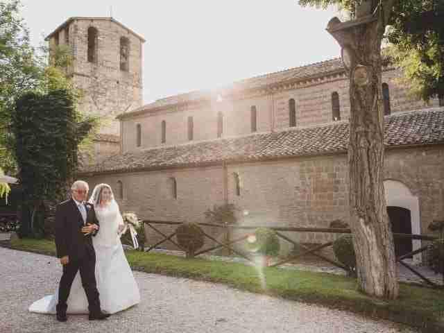 : Abbazia di Sant'Andrea in Flumine - Fotoreportage matrimonio di Cecilia & Marco - Colizzi Fotografi