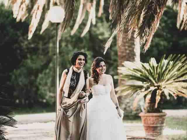 Villa Marta - Fotoreportage matrimonio di Valentina & Anna Maria - Colizzi Fotografi