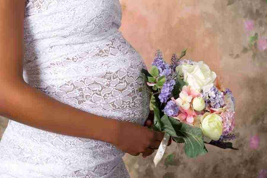 Matrimonio incinta